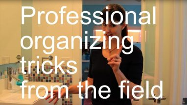 Professional Organizing Tricks from the Field