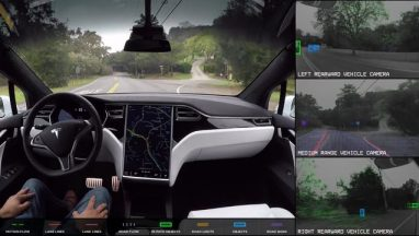 Tesla Autopilot Full Self-Driving Demonstration