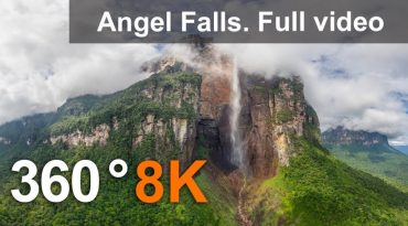The Highest Waterfall in the World in 360°